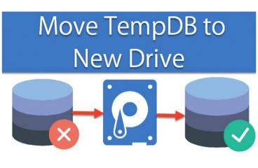 SQL TempDB farklı diske taşıma işlemi